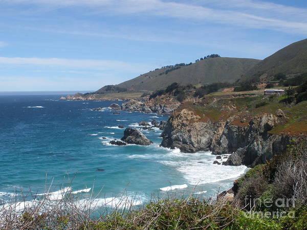 Sunday Drive - California Coast Poster