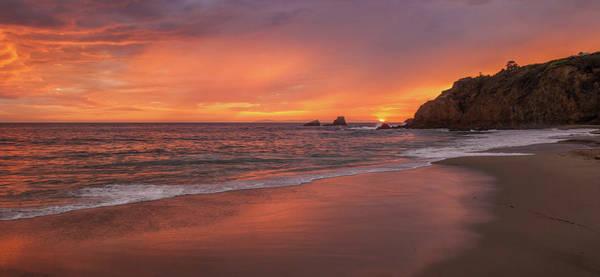 Sundown Over Crescent Beach Poster