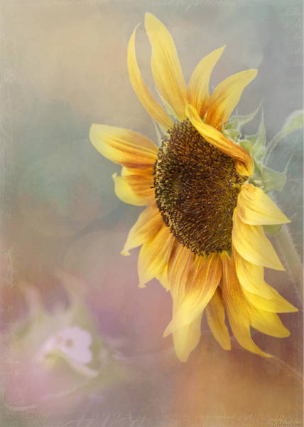 Sunflower Art - Be The Sunflower Poster