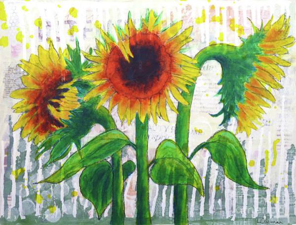 Sunflower Sonata Poster