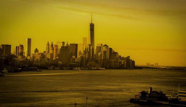 Sunrise Across The Hudson Poster