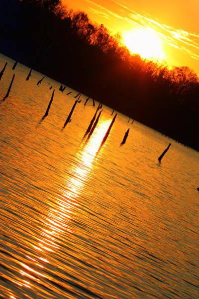 Sunrise At East Fork Oh Poster