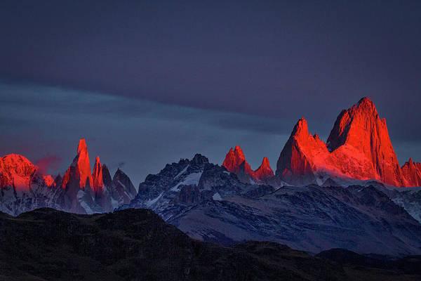 Sunrise At Fitz Roy #2 - Patagonia Poster