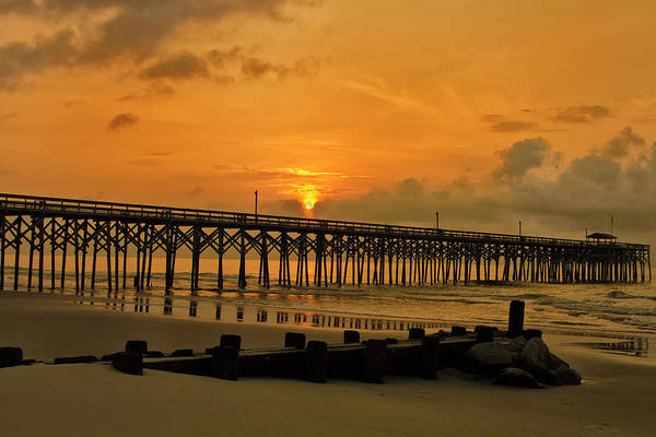 Sunrise At Pawleys Island Poster