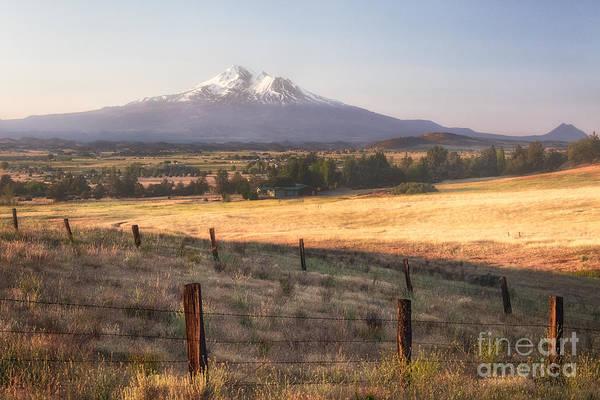 Sunrise Mount Shasta Poster