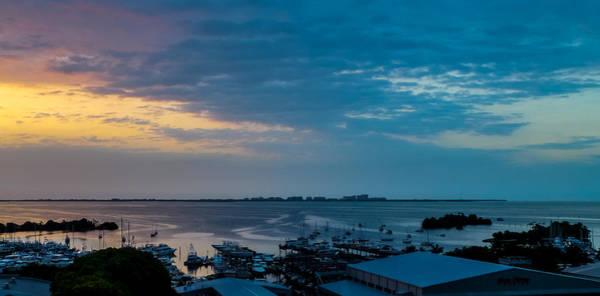 Sunrise On Biscayne Bay Poster
