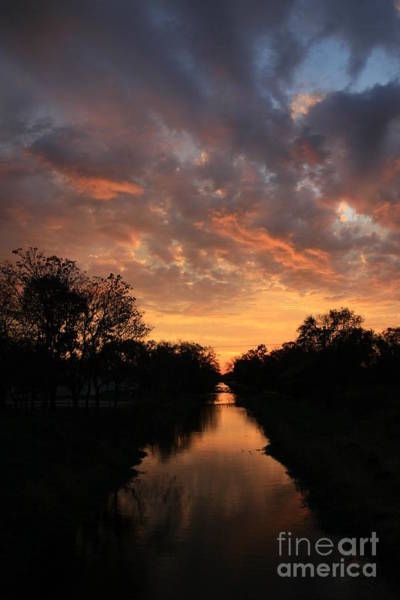 Sunrise On The Illinois Michigan Canal Poster