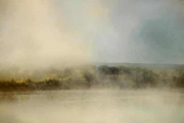 Sunrise Through The Fog Poster