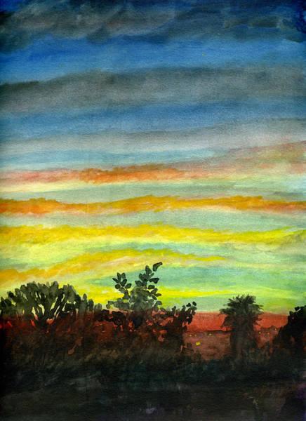 Sunset #27 Backyard Poster