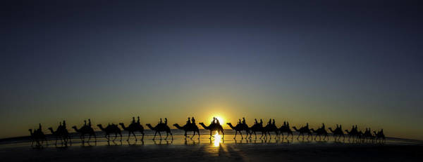Sunset At Cable Beach Poster