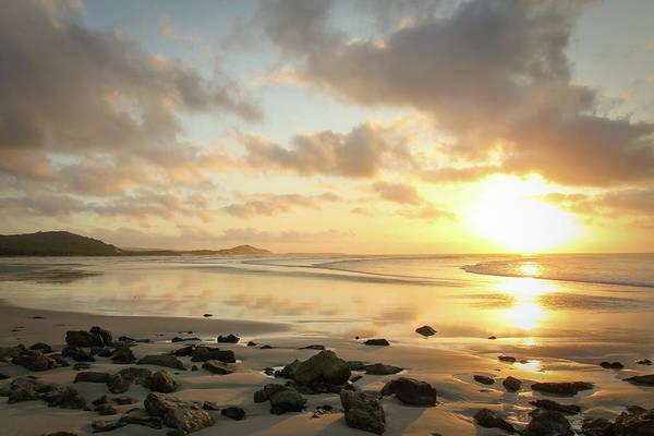 Sunset Beach Delight Poster