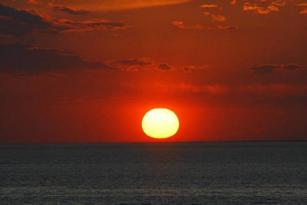 Sunset From The Montauket Hotel Poster