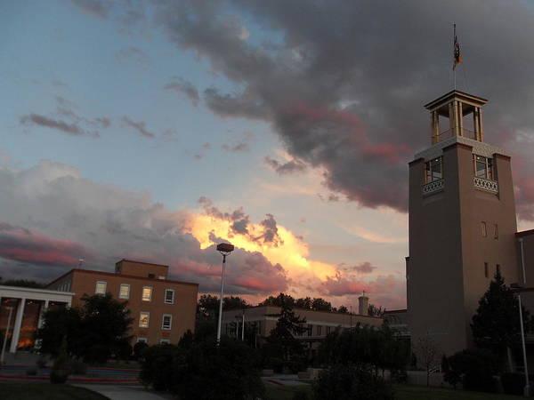 Sunset In Santa Fe Poster