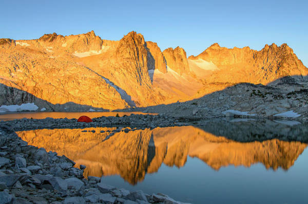 Sunset In The Enchantments Poster