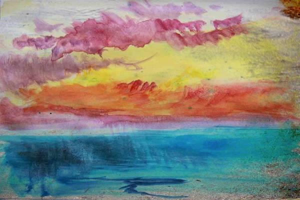 Sunset Lagoon Poster