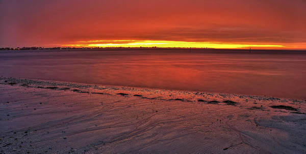 Sunset Over Anna Maria Island Poster