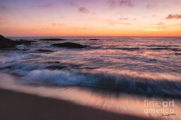 Sunset Surf Poster