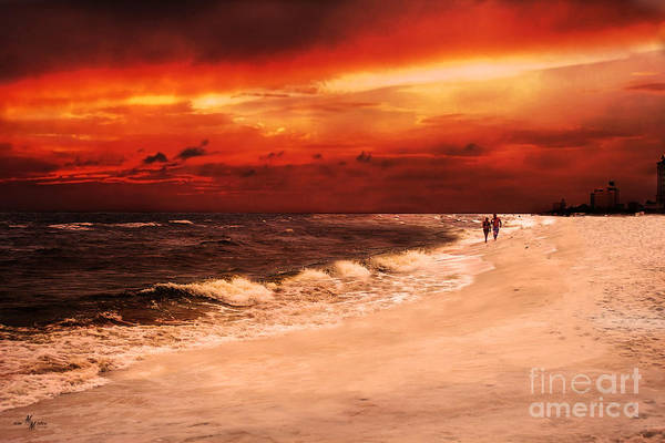 Sunset Walk Poster