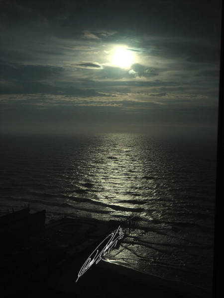Sunshine Over Central Pier, Atlantic City, Nj Poster