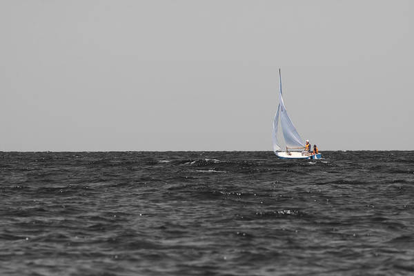 Poster featuring the photograph Superior Sailing by Dylan Punke