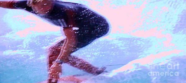 Surf The Big Wave Poster