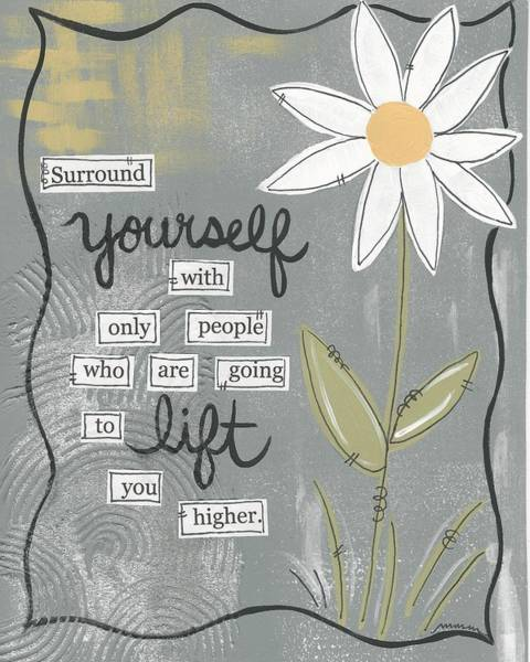Surround Yourself Poster