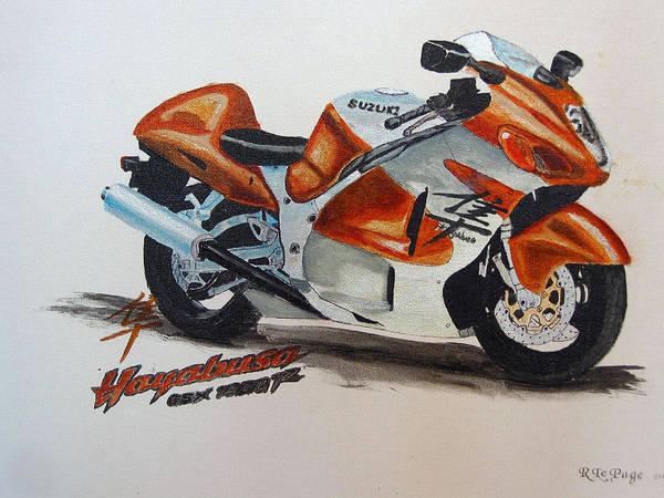 Suzuki Hayabusa Poster