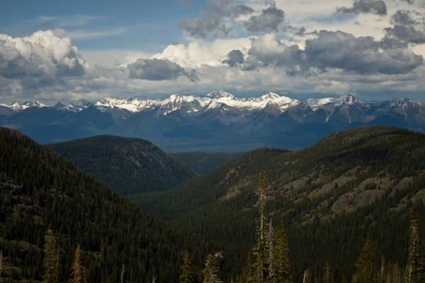 Swan Mountain Range Poster
