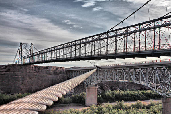 Swayback Suspension Bridge Poster