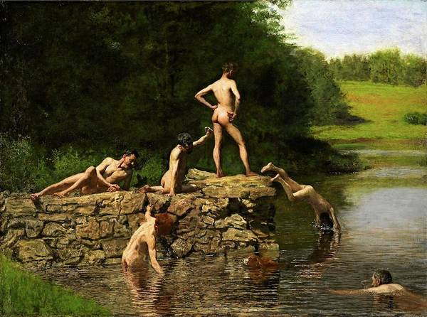 Swimming Hole Poster