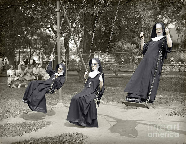 Swinging Nuns 1960 Poster