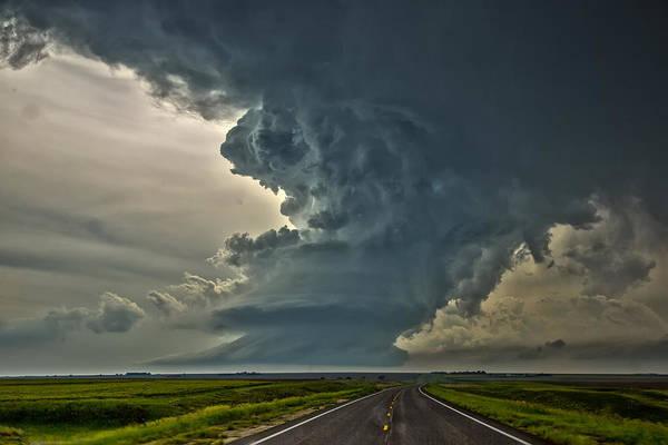 Swirling Skies Poster