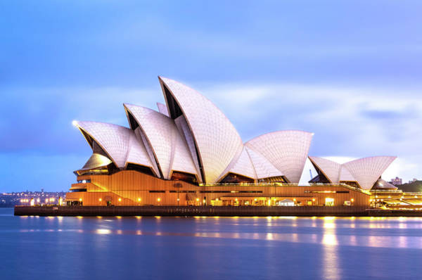 Sydney Opera House At Dawn Poster