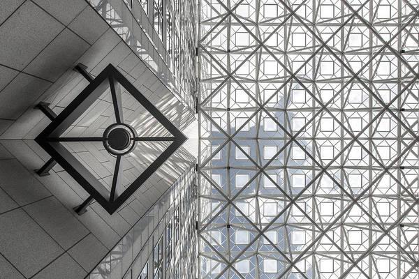 Symmetric Sky Poster
