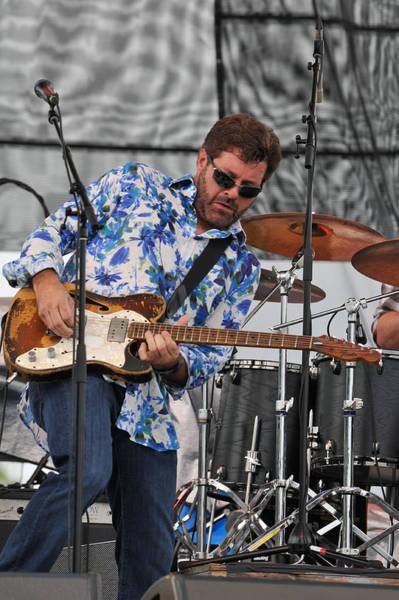 Tab Benoit Plays His 1972 Fender Telecaster Thinline Guitar Poster