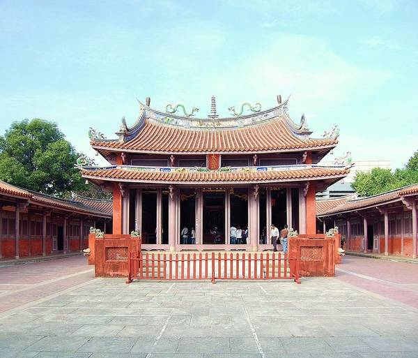 Poster featuring the photograph Tainan Confucian Temple by HweeYen Ong