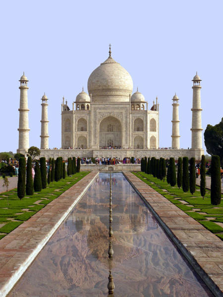 The Taj Mahal - Grand Canyon Mash-up Poster