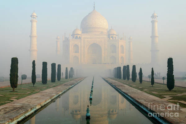 Taj Mahal At Sunrise 02 Poster