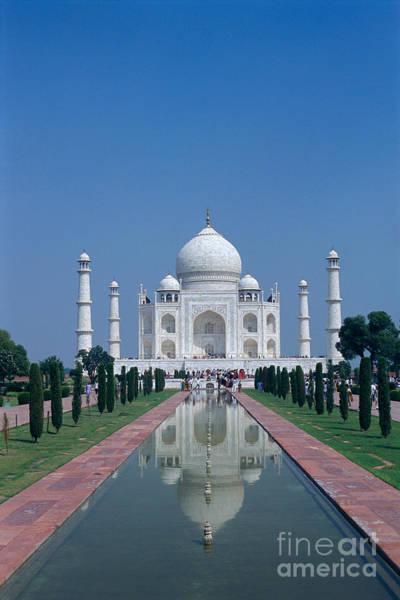 Taj Mahal View Poster