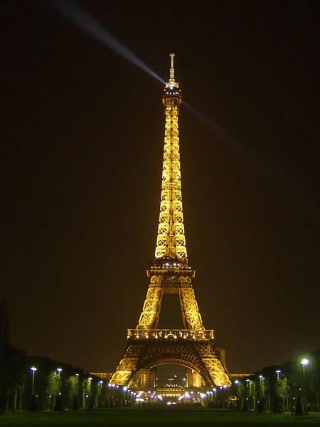 Tall Eiffel Tower Poster