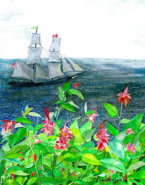 Tall Ships In Victoria Bc Poster