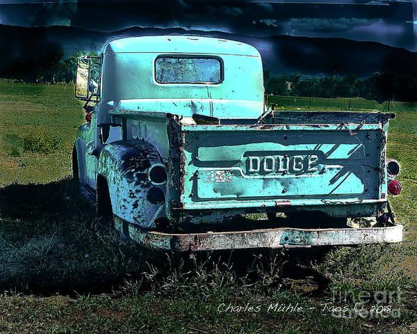 Taos Dodge Poster