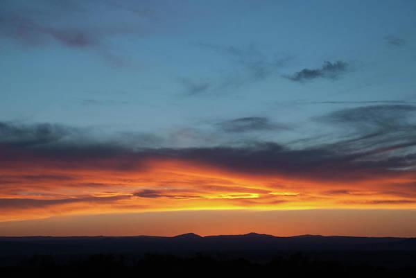 Taos Mesa Sunset Poster