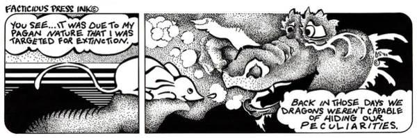 Targeted For Extinction Fpi Cartoon Poster
