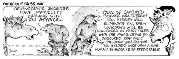 Technocratic Societies Fpi Cartoon Poster