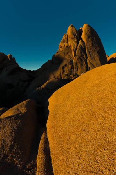 Temple Rock, Joshua Tree, Sunrise Poster