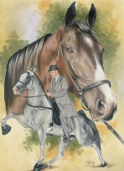 Tennesse Walking Horse Poster