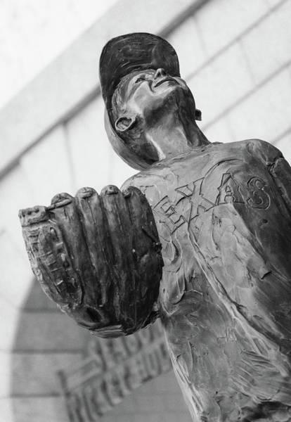 Texas Rangers Little Boy Statue Poster