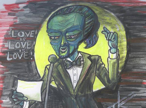 The Alien Lin-manuel Miranda Poster