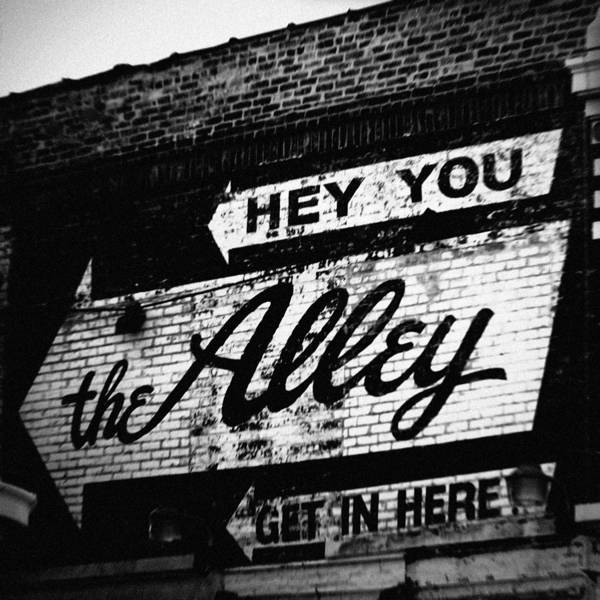 The Alley Chicago Poster